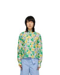 Plan C Multicolor Floral Shirt