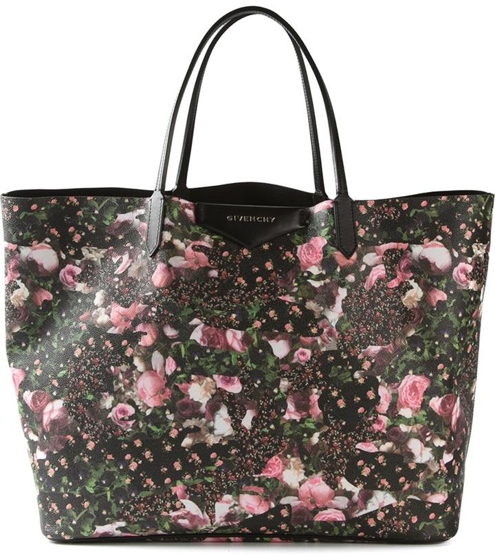 e32857470d ... Givenchy Floral Print Antigona Tote