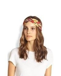 Multi colored Floral Headband