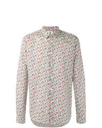 Multi colored Floral Long Sleeve Shirt