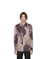 DSQUARED2 Multicolor Flowers Shirt
