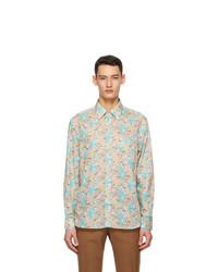 Gucci Multicolor Liberty London Edition Floral Shirt