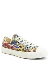 Chuck taylor floral print sneaker medium 184543