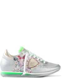 Philippe Model Floral Panel Trainers