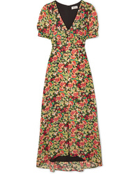 Paul & Joe Blondie Floral Print Crepe Maxi Dress
