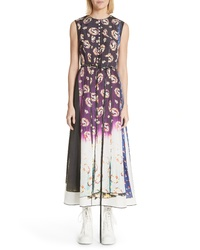 Marc Jacobs Floral Degrade Photo Print Dress