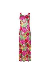 Ultràchic Hibiscus Sleeveless Maxi Dress