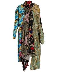 Projection patchwork midi dress medium 855318
