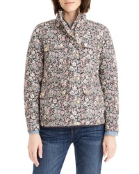 J.Crew Quilted Field Jacket In Liberty Garden Print