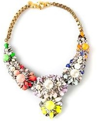 Multi colored Floral Necklace