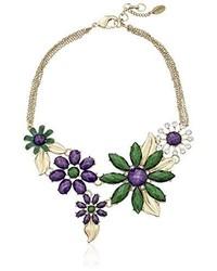 Amrita Singh Hamptons Della Floral Bib Necklace