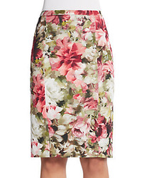 Floral pencil skirt medium 437496