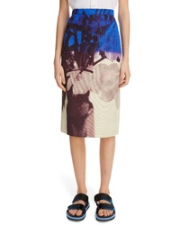 Dries Van Noten Santon Pencil Skirt