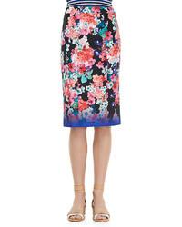 Nanette Lepore Surfin Skirt Floral Multicolor