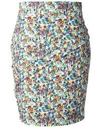 Versace floral print skirt medium 19865