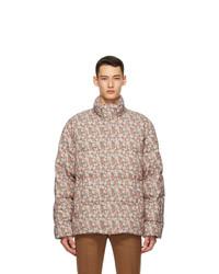 Gucci Multicolor Liberty London Edition Down Floral Jacket