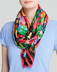 Lauren Ralph Lauren Anjali Floral Jacquard Silk Scarf