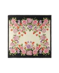 Gucci Rising Flowers Square Shawl