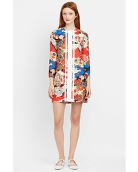 Multi colored Floral Shift Dress