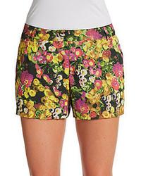 Diana Floral Cotton Shorts
