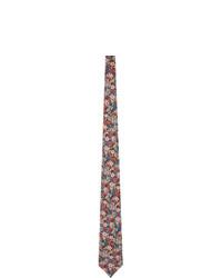 Gucci Multicolor Liberty London Edition Silk Floral Tie