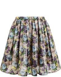 Floral print skirt medium 11411