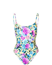 Floral print swimsuit medium 7410421