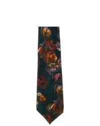 Republic Floral 100% Silk Neck Tie