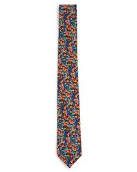 Topman Winter Floral Print Tie