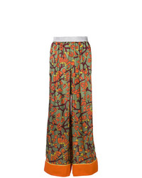 I'M Isola Marras Floral Print Palazzo Trousers