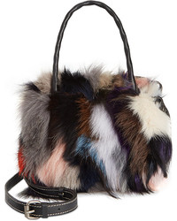 Fur paris satchel medium 376292
