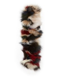 Dianora salviati nigella fox fur tube scarf medium 325271