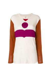 Isabel marant toile colour block logo jumper medium 8309185