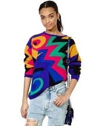Vintage go geo sweater medium 47392
