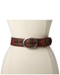 Lucky Brand Multi Color Leather Belt