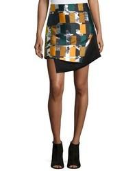 Opening Ceremony Color Story Jacquard Skirt Black Multi