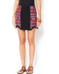 Line dot aztec skirt medium 171285