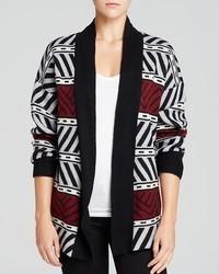 Graphic pattern cardigan medium 92422