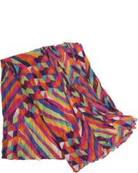 Johnston murphy multicolor geometric scarf medium 117023