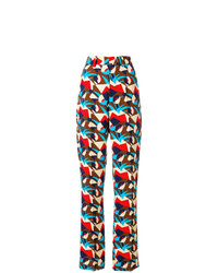 Marni Geometric Patterned Trousers