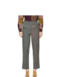 Bode Multicolor Duotone Scot Trousers