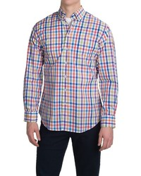 Multi colored Gingham Long Sleeve Shirt