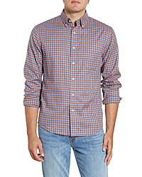 Faherty Everyday Regular Fit Check Sport Shirt