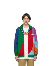 Multi colored Harrington Jacket