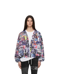 99% Is Multicolor Collage Jacket