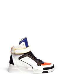 Multi colored high top sneakers original 540396