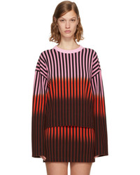 Opening Ceremony Multicolor Dip Dye Striped Sweater