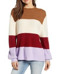 MOON RIVE R Stripe Sweater