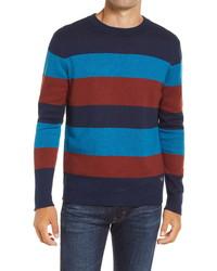 Scotch & Soda Stripe Crewneck Sweater