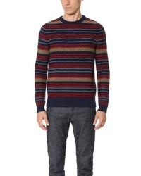 Striped crew sweater medium 1292749